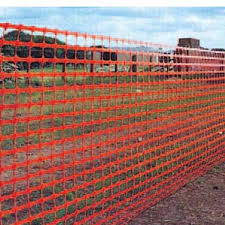 orange mesh fencing