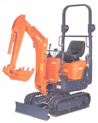 three quater ton excavator