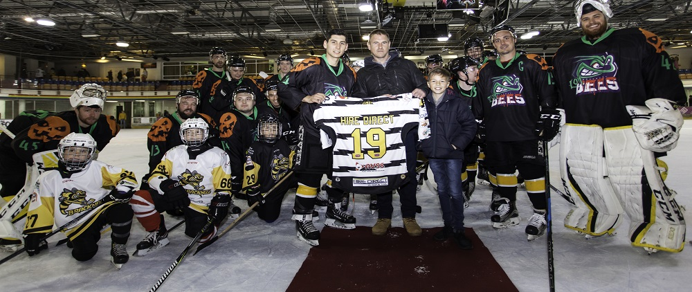 Proud to support our local ice hockey team, Bracknell Bees